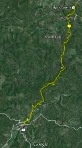 Route 7 in Arkansas